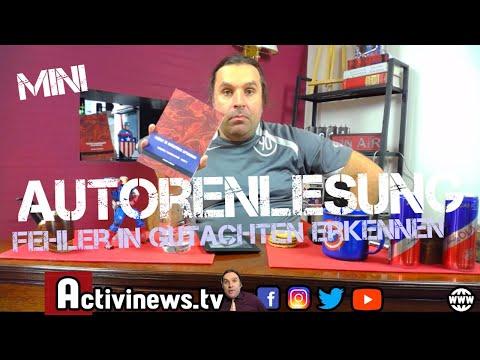 """Mini Autorenlesung """"Fehler in Gutachten erkennen"""""""