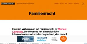 Webseite Familienrecht